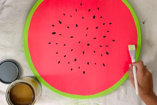 DIY Watermelon Serving Tray OSBP 5 DIY Tutorial: Watermelon Serving Tray