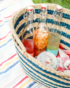 July Fourth Summer Cocktail Picnic Inspiration OSBP 49 Summer Cocktail Series: Cocktail Picnic Party Recipes