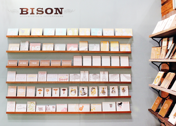 OSBP NSS 2014 Bison Bookbinding Letterpress 1 National Stationery Show 2014, Part 11