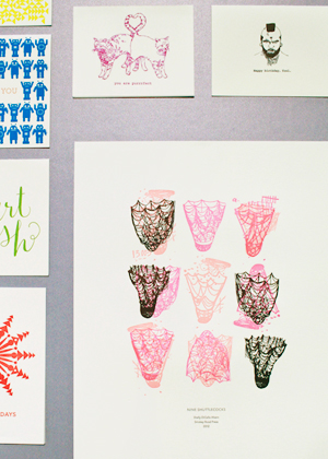 OSBP NSS 2014 Ladies of Letterpress 65 National Stationery Show 2014, Part 12