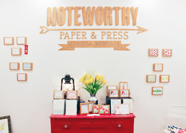 OSBP NSS 2014 Noteworthy Paper Press 4 National Stationery Show 2014, Part 13