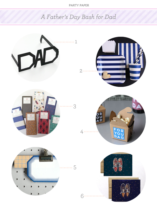 Sophisticated Fathers Day Celebration Paper Party: A Fathers Day Bash for Dad