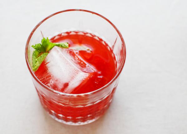 Strawberry Mint Smash Cocktail Recipe OSBP 5 Friday Happy Hour: The Strawberry Mint Smash