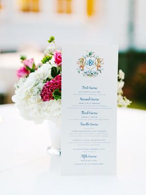 Watercolor Gold Foil Crest Wedding Invitations Roseville Designs OSBP7 Jennifer + Barrons Gold Foil Watercolor Crest Wedding Invitations