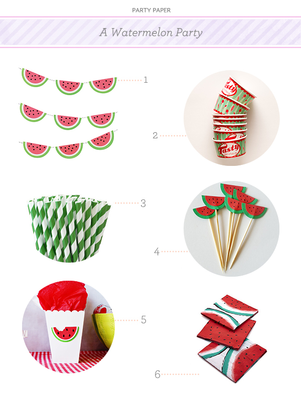 watermelon party paper Party Paper: A Watermelon Party
