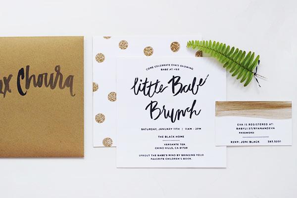 Black and White Polka Dot Baby Shower Invitations Goodheart Design Evas Sweet Polka Dot Baby Shower Invitations