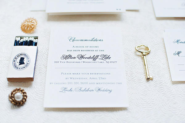 Classic Black White Wedding Invitations Suite Paperie OSBP2 Ashley + Erics Classic Black and White Wedding Invitations