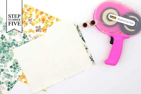 GoodieBag Step5 DIY Tutorial: Patterned Wedding and Party Favor Bags