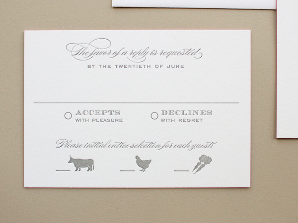 Traditional Romantic Wedding Invitations Banter and Charm OSBP3 Carolyn + Daves Traditional Romantic Wedding Invitations