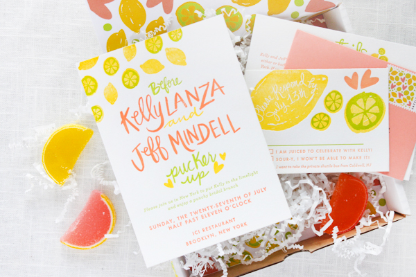 Citrus Bridal Shower Invitations StudioDIY 9thLetterPress OSBP2 Kellys Citrus Inspired Bridal Shower Invitations