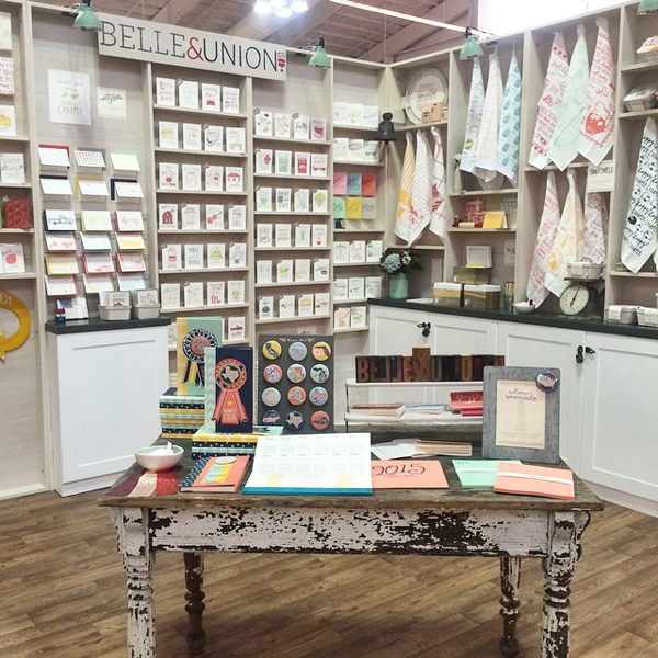 NYNOW Summer2014 BelleandUnion NYNOW Through the Eyes of Gus & Ruby Letterpress