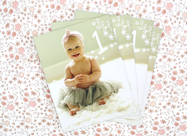 Peach Pink Ombre Birthday Party Invitations Printerette Press4 Waverleys Ombre First Birthday Party Invitations