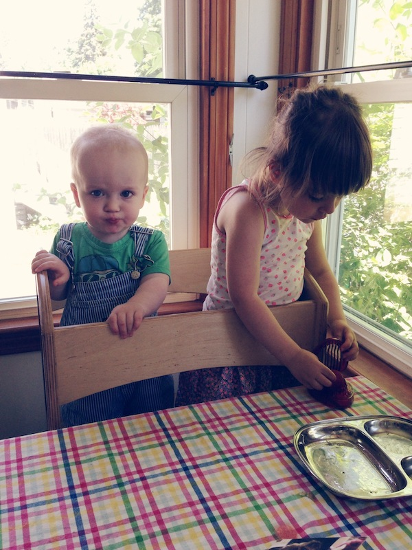 The Haystack Needle Kids Learning Tower Guest Post: Jen of The Haystack Needle
