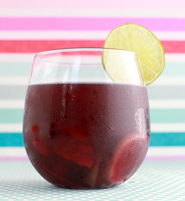 Tropical Sangria Signature Cocktail Recipe OSBP 32 Friday Happy Hour: Tropical Sangria