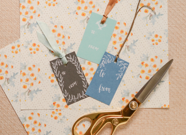 DSC 5342 1 DIY Tutorial: Calligraphy Gift Tags