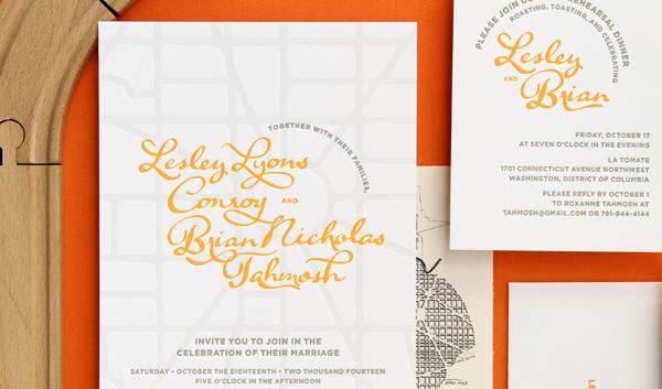 Street Map Letterpress Wedding Invitations Thomas Printers Anticipate Invitations OSBP9 Lesley + Brians Street Map Wedding Invitations