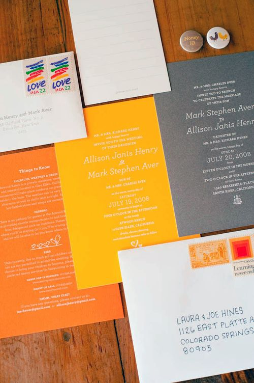 6a00e554ee8a22883301156f65f811970c 500wi Allison + Marks Vibrant and Modern Wedding Invitations