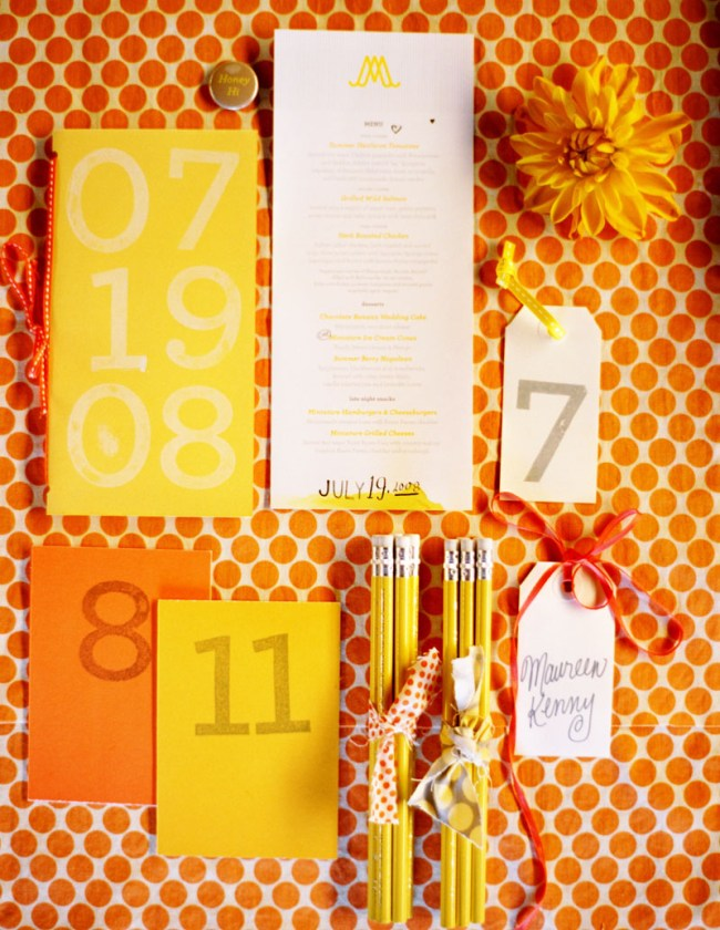6a00e554ee8a2288330115705c274f970b pi Allison + Marks Vibrant and Modern Wedding Invitations