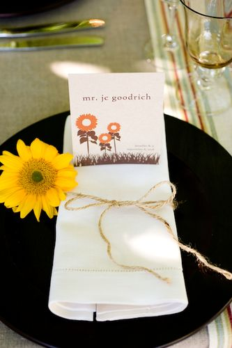 6a00e554ee8a2288330120a4e2b8c3970b 500pi Jennifer + James Sunflower Wedding Invitations