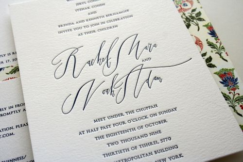 6a00e554ee8a2288330120a5a855ee970c 500wi Rae + Noahs Classic Wedding Invitations with Modern Calligraphy