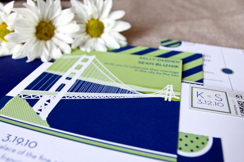6a00e554ee8a2288330120a5ac6b8a970c 500wi Kelly + Seans Preppy Blue and Green Wedding Invitations