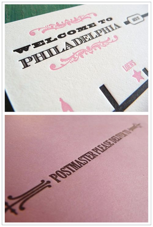 6a00e554ee8a2288330120a5ec326a970b 500wi Pink, Black + White Invitations