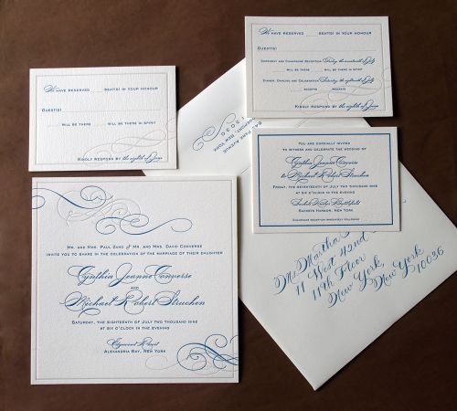 6a00e554ee8a2288330120a651b02e970b 500wi Cyd + Michaels Classic Elegant Wedding Invitations