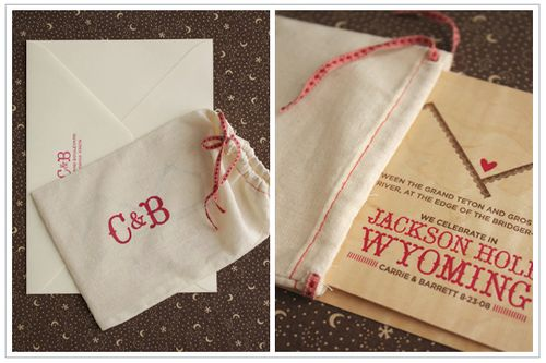 6a00e554ee8a2288330120a679e634970c 500wi Carrie + Barretts Wood Veneer Mountain Wedding Invitations