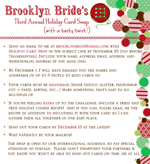 6a00e554ee8a2288330120a6a604c0970b 500wi Brooklyn Bride Holiday Card Swap!