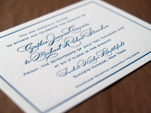 6a00e554ee8a2288330120a6a715b4970c 500wi Cyd + Michaels Classic Elegant Wedding Invitations