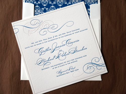 6a00e554ee8a2288330120a6a7230c970c 500wi Cyd + Michaels Classic Elegant Wedding Invitations