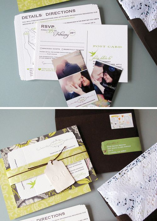 6a00e554ee8a2288330120a88e460a970b 500wi Quyen + Roberts Colorful DIY Wedding Invitations