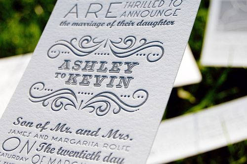 6a00e554ee8a2288330120a8b1e6ca970b 500wi Single Color Letterpress Wedding Invitations