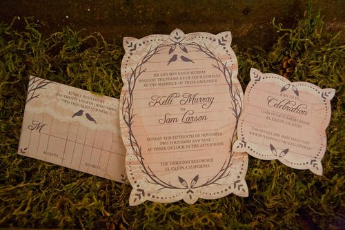 6a00e554ee8a2288330120a8d0ee49970b 500wi Kelli + Sam Romantic Vintage Inspired Wedding Invitations