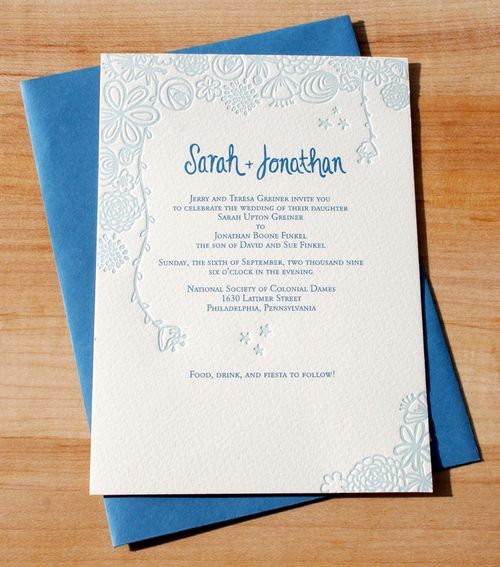 6a00e554ee8a2288330120a8e9f87a970b 500wi Sarah + Jons Floral Illustrated Wedding Invitations