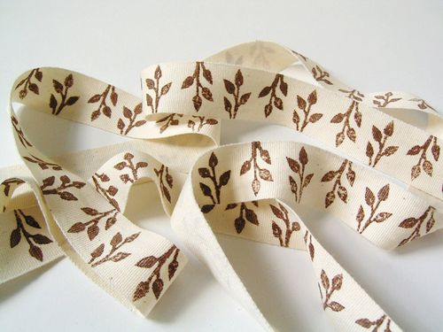 6a00e554ee8a2288330120a9180ec8970b 500wi Block Printed Cotton Ribbon