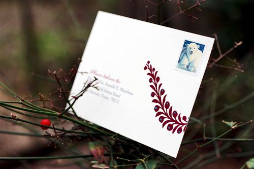 6a00e554ee8a2288330120a923cdca970b 500wi Melissa + Georges Vibrant Folk Art Wedding Invitations