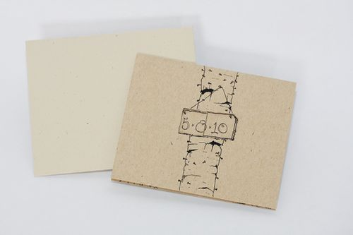 6a00e554ee8a2288330120a938e30f970b 500wi Kraft Paper Spring Wedding Invitations
