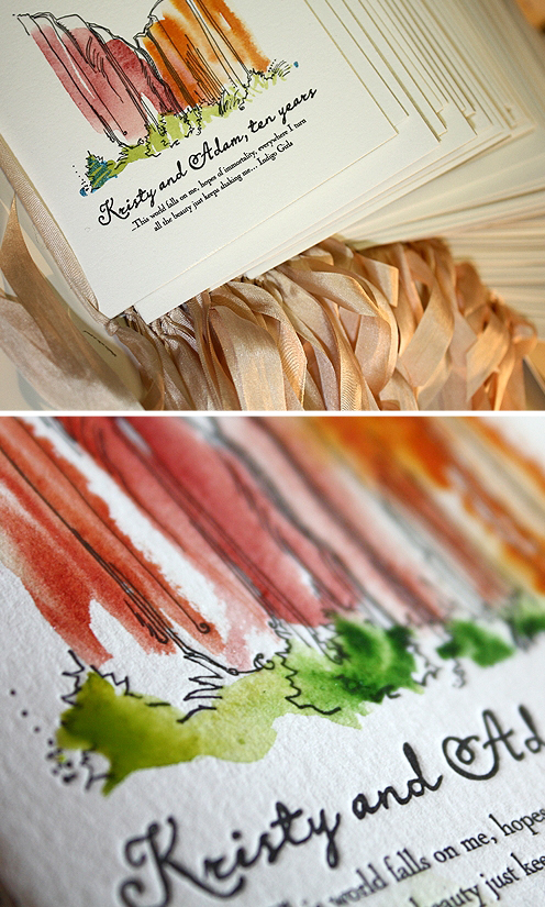 6a00e554ee8a228833012876373ac8970c 500wi Kristy + Adams Hand Painted Letterpress Save the Dates