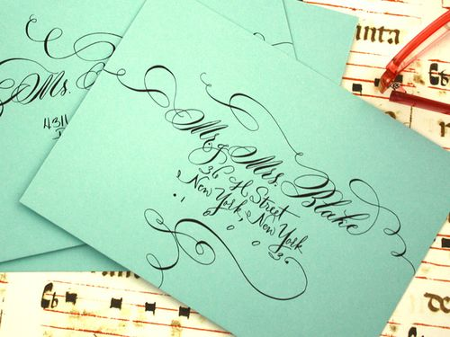 6a00e554ee8a228833012877580e57970c 500wi Romantic Calligraphy from Danae Hernandez