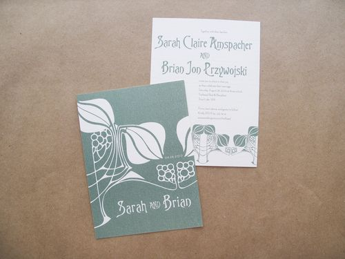 6a00e554ee8a2288330133ec5f8471970b 500wi Sarah + Brians Art Nouveau Wedding Invitations