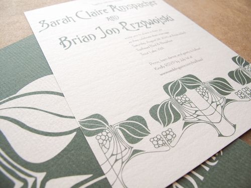 6a00e554ee8a2288330133ec5f84b0970b 500wi Sarah + Brians Art Nouveau Wedding Invitations