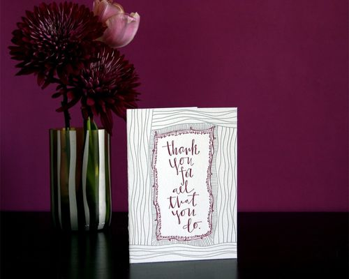 6a00e554ee8a2288330133ecb5a568970b 500wi Hand Lettered Thank You Card