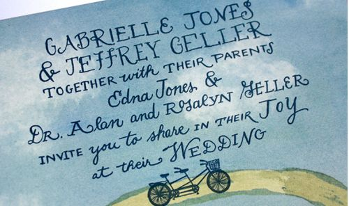 6a00e554ee8a2288330134800bdf3e970c 500wi Watercolor Bicycle Wedding Invitations