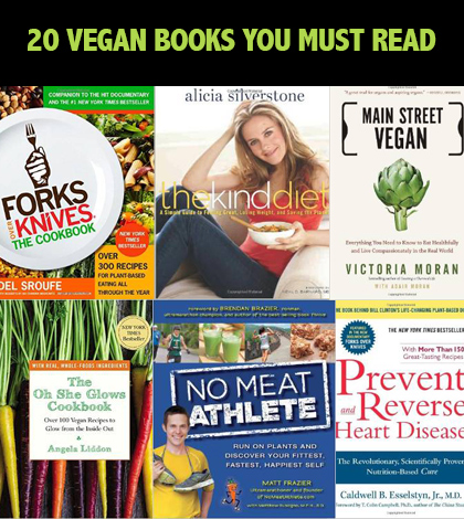 20 Great Vegan Books You Must Read Today