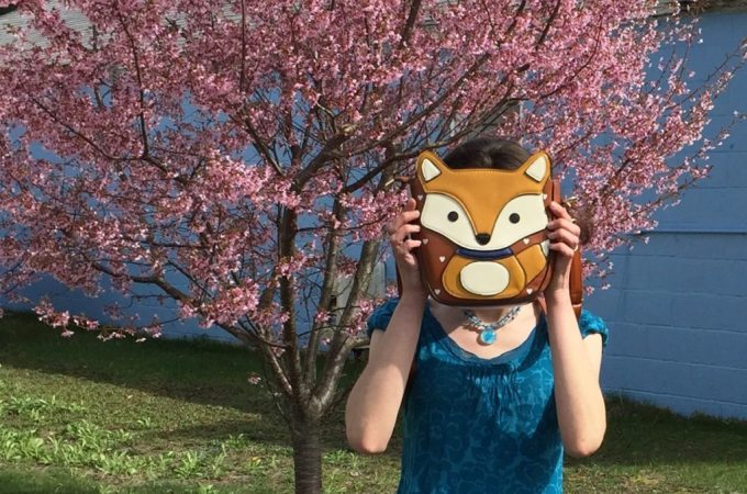Totally in love with my new fox purse!