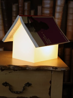 Book Rest House Lamp