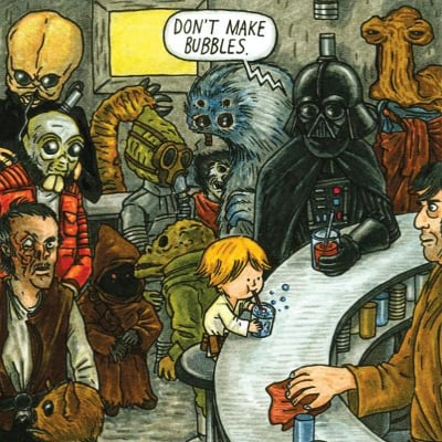 Darth Vader and Son Children's Book