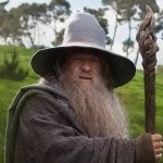 Staff of Wizard Gandalf