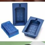 TARDIS Silicone Mold